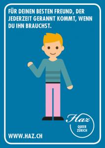 Postkarte HAZ Mitgliedschaft
